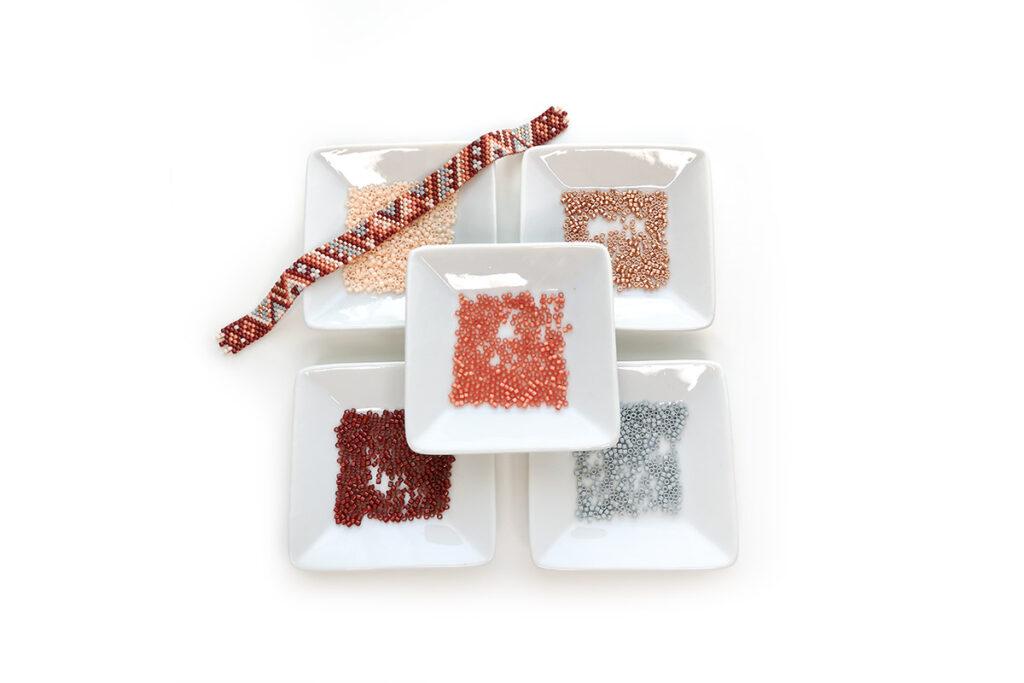 materiel tuto bracelet multirangs miyuki