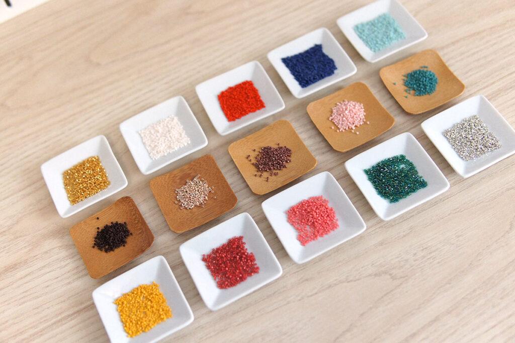 Liste des perles du top 15 couleurs de perles Miyuki